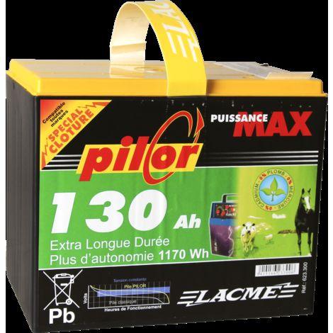 Pile Pilor 9V 130Ah - Lacmé