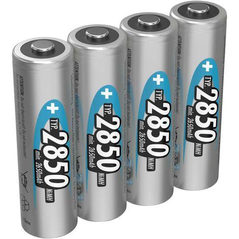 Pile rechargeable accu 6LR61 PP3 9V 300mAH