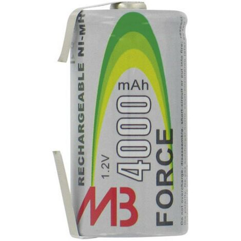 Pile rechargeable LR14 (C) NiMH 1.2 V MicroBatt 6052 4500 mAh 1 pc(s)