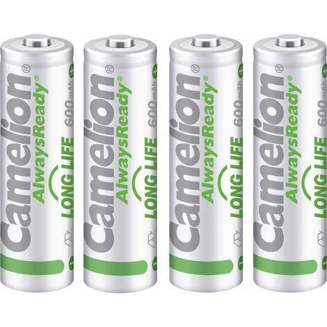 Pile rechargeable LR3 (AAA) Camelion AlwaysReady Solar 17406403 NiMH 600 mAh 1.2 V 4 pc(s)