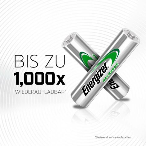 Pile rechargeable LR3 (AAA) NiMH Energizer Universal HR03 E301375700 500 mAh 1.2 V 4 pc(s)