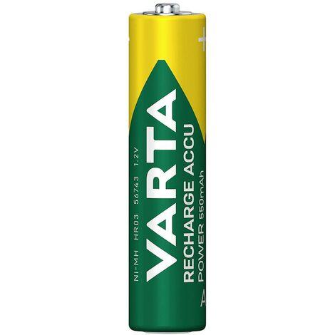 Pile rechargeable LR3 (AAA) Varta Ready2Use HR03 56743101404 NiMH 550 mAh 1.2 V 4 pc(s)