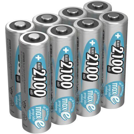 Pile rechargeable LR6 (AA) NiMH Ansmann maxE HR06 2100 mAh 1.2 V 8 pc(s)