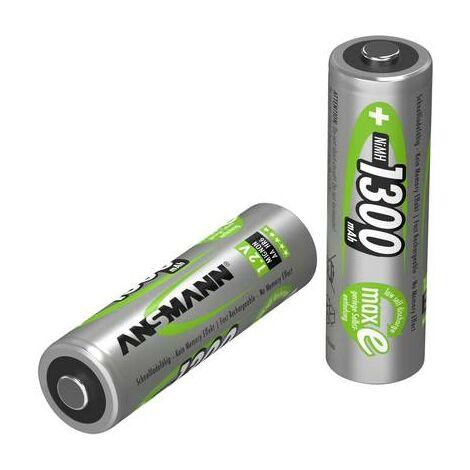 Pile rechargeable LR6 (AA) NiMH Ansmann maxE HR06 5030791 1300 mAh 1.2 V 1 pc(s)