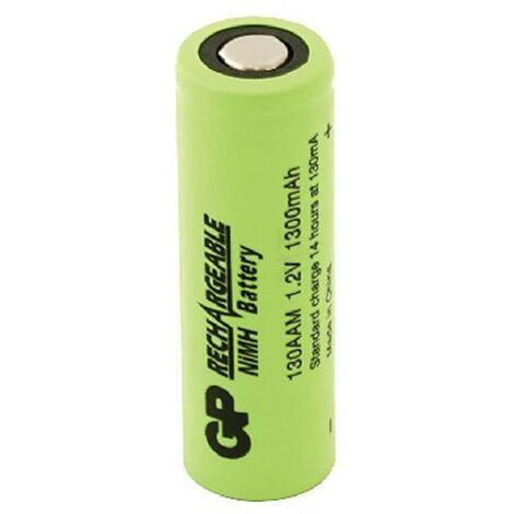 Pile rechargeable LR6 (AA) NiMH GP Batteries GP130AAM 1300 mAh 1.2 V 1 pc(s) S224401