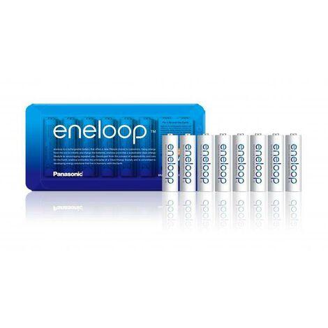 Pile rechargeable LR6 (AA) NiMH Panasonic eneloop HR06 Storage 1900 mAh 1.2 V 8 pc(s) C043391