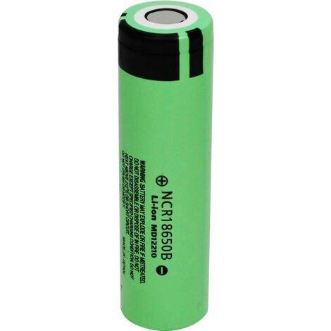 Pile rechargeable spéciale 18650 Panasonic NCR18650B NCR 18650B Li-Ion 3.7 V 3400 mAh 1 pc(s) W281751