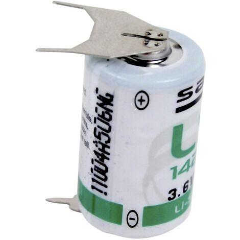 Pile spéciale 1/2 LR6 (AA) lithium Saft LS142503PF picots à souder en U 3.6 V 1200 mAh 1 pc(s) V386511
