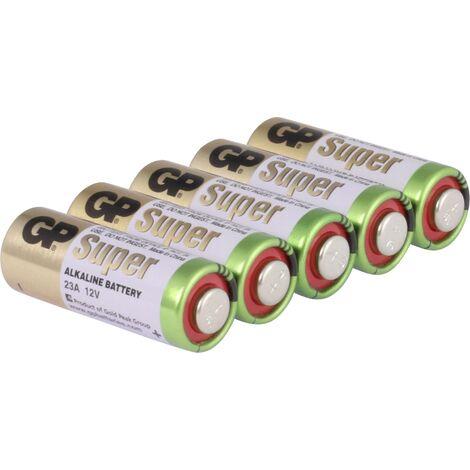 Pile spéciale 23 A alcaline(s) GP Batteries 10023AC5 12 V 38 mAh 5 pc(s) S505291