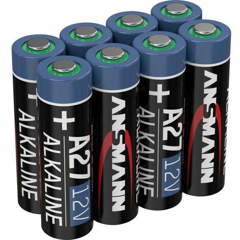 Pile spéciale 27 A Ansmann A27 1520-0016 alcaline(s) 12 V 8 pc(s)