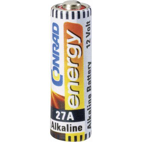 Pile spéciale 27 A Conrad energy 27A CE-1629001 alcaline(s) 12 V 20 mAh 1 pc(s) X507791