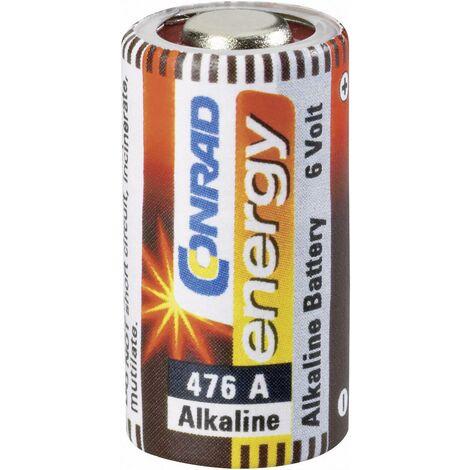 Pile spéciale 476 A alcaline(s) Conrad energy 650520 6 V 145 mAh 1 pc(s) X37357