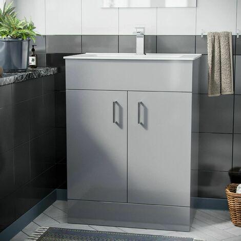 Pileh 600mm Basin Floor Standing Vanity Unit