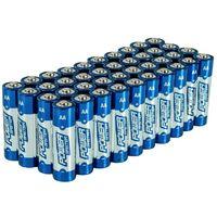 Piles alcalines Super LR6 type AA, 40 pcs