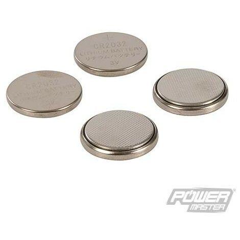 Piles bouton lithium CR2032, 4 pcs