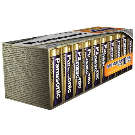 Piles LR3 AAA Everyday Power pack de 40