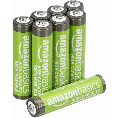 Piles Rechargeables AAA (8 uds) (Refurbished A+)