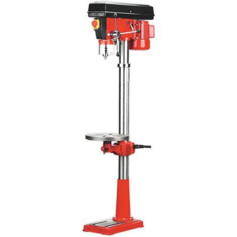 Pillar Drill Floor 16-Speed 1580mm Height 550W/230V