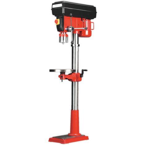 Pillar Drill Floor Variable Speed 1630mm Height 650W/230V