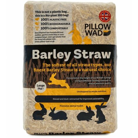 """main image of """"Pillow Wad Barley Small Pet Bedding Straw (One Size) (Brown)"""""""