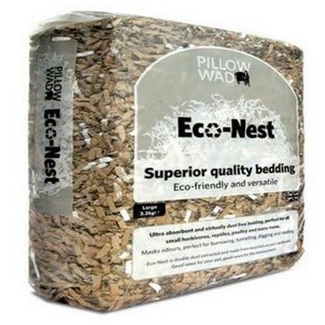 Pillow Wad Large Eco Nest Bedding (3.2kg) (May Vary)