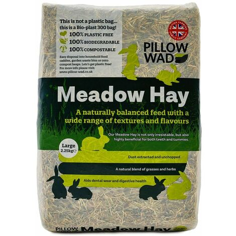 """main image of """"Pillow Wad Meadow Small Pet Hay"""""""