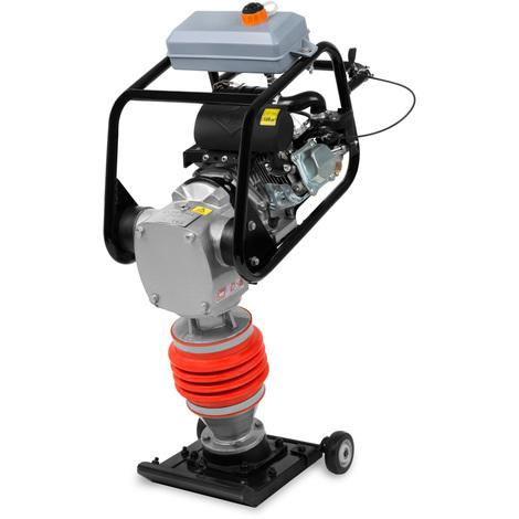 Pilonneuse (Pression de compression 10 kN, Moteur essence 6,5 CV, Châssis compris)