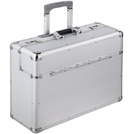 Pilot case trolley attaché case sacoche informatique 55 x 49 x 22 cm - Jaune