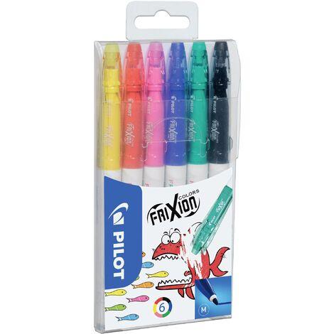 Pilot Feutres FriXion Colors Set 4144S6 couleurs diverses 0.4 mm 6 pc(s)/emb. 6 pc(s) C226271