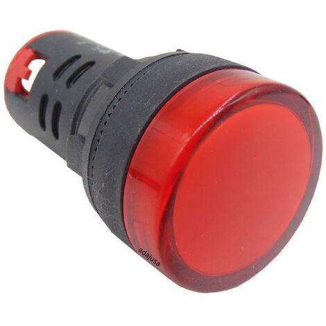 Piloto multiled color rojo 230 Vac 22mm