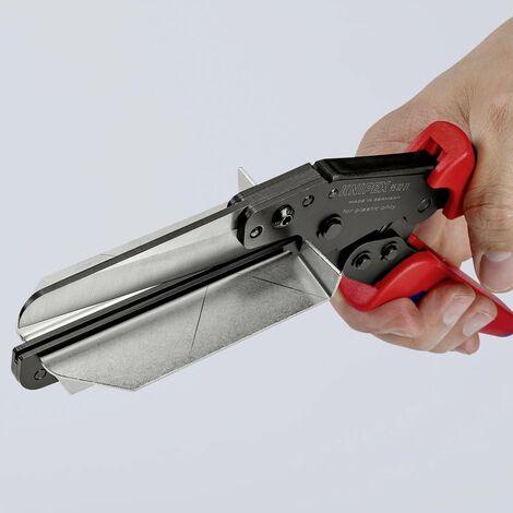 Pince à couper le plastique Knipex 95 02 21 Adapté pour (technique disolation) goulottes de câble 4 mm 1 pc(s)