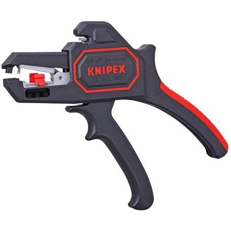 Pince à dénuder automatique 6mm² - KNIPEX - WERK : 12 62 180 SB