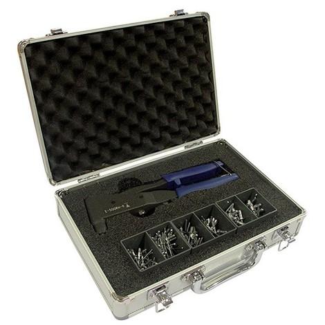 Pince à main avec ressort SCELL-IT pour rivets aveugles + Rivets multi-serrages - E-500RH-R-S