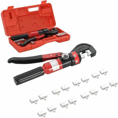 Pince a sertir hydraulique 4-6-8-10-16-25-35-60 mm2