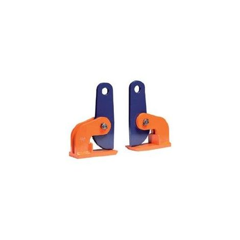 Pince à tôle horizontale - Capacité : 10 tonnes - Ouverture : 0 à 100 mm