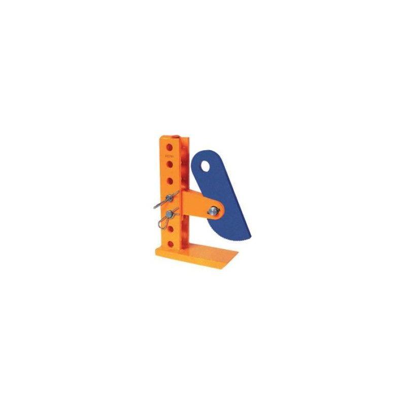 Pince à tôle horizontale réglable - Capacité : 4.5 tonnes - Ouverture : 3 à 180 mm
