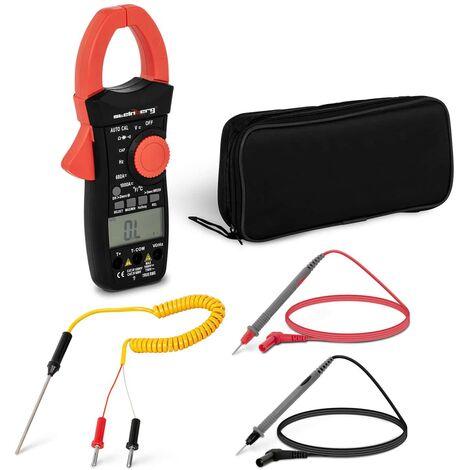 Pince Ampèremétrique AC/DC Voltmètre Numérique TRMS Multimètre Automatique LCD