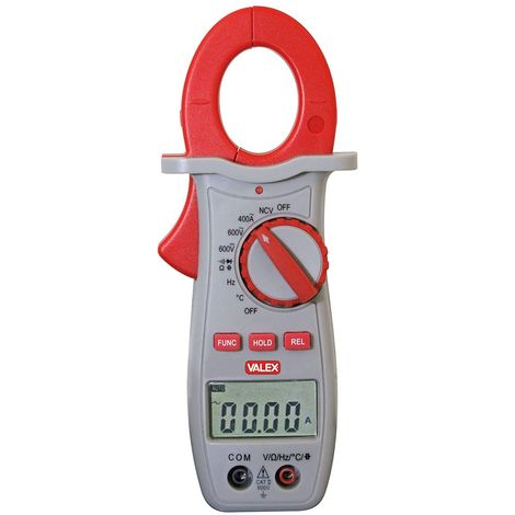 Pince ampéremétrique avec testeur et sonde thermique