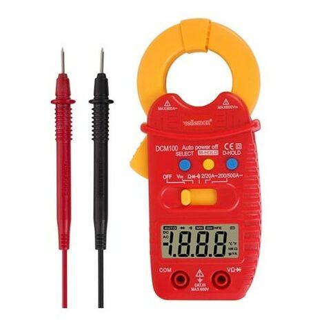 Pince Ampèremétrique - Cat III- 600 V - Ac - Avec Fonction Data-Hold