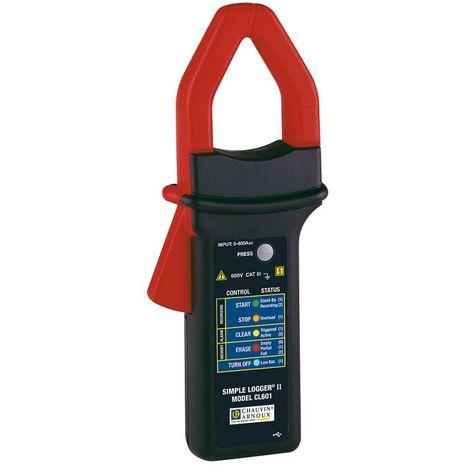 Pince ampéremétrique enregistreur 600A AC LOGGER CL601 - 70