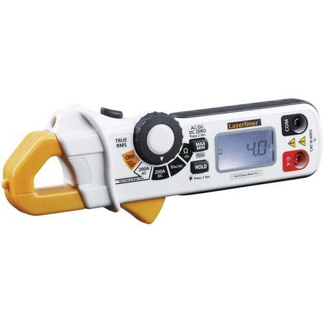 Pince ampèremétrique Laserliner MultiClamp-Meter Pro 083.040A numérique CAT III 600 V Affichage (nombre de points): 3.5