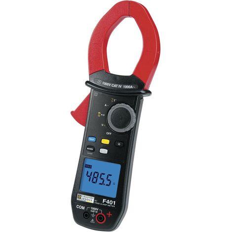 Pince ampèremétrique, Multimètre Chauvin Arnoux F401 P01120941 numérique CAT IV 1000 V Affichage (nombre de points): 10000 1 pc(s)