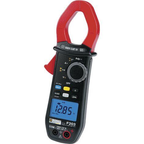 Pince ampèremétrique, Multimètre Chauvin Arnoux P01120923 numérique Etalonnage: d'usine (sans certificat) Q75328