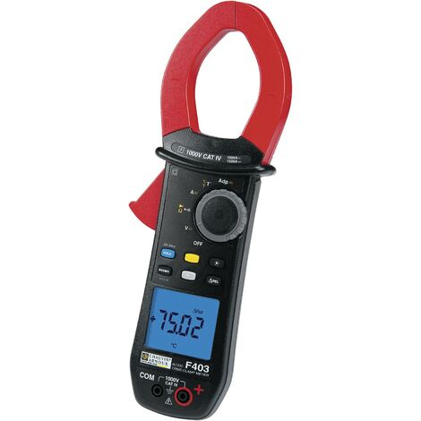 Pince ampèremétrique, Multimètre Chauvin Arnoux P01120943 numérique Etalonnage: d'usine (sans certificat) Q75312