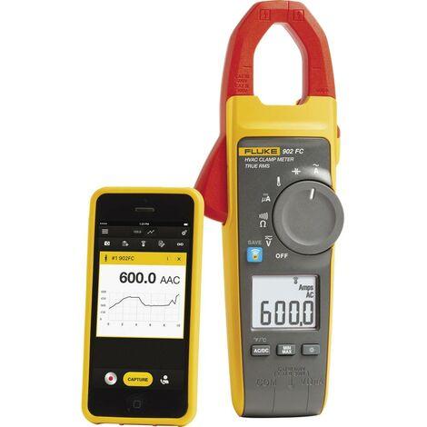 Pince ampèremétrique, Multimètre Fluke 902 FC 4695814 numérique CAT III 600 V, CAT IV 300 V Affichage (nombre de points): 6000 1 pc(s)