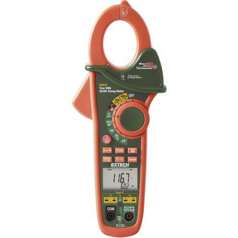 Pince ampèremétrique, Multimètre numérique Extech EX623 thermomètre IR CAT III 600 V Affichage (nombre de points):40000 Q52555