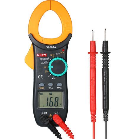 Pince Amperemetrique Numerique, Gamme Automatique, 2000 Comptes