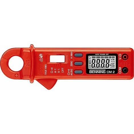 Pince amperemetrique numerique mesure de courant continu et alternatif BENNING CM2