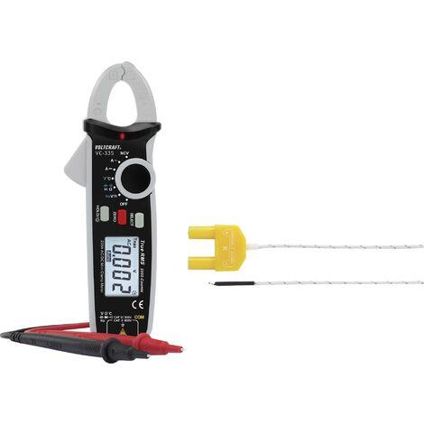 Pince ampèremétrique numérique VOLTCRAFT VC-335 Etalonnage: d'usine (sans certificat) CAT II 600 V, CAT III 300 V Affichage (nombre de points): 200 W903951