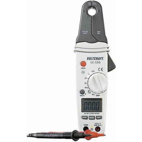 Pince ampèremétrique VOLTCRAFT VC-539 Etalonnage: dusine (sans certificat) CAT III 600 V Affichage (nombre de points): 4000 1 pc(s)